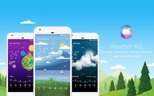 Weather Wiz Accurate Weather Forecas Widgets скриншот 1