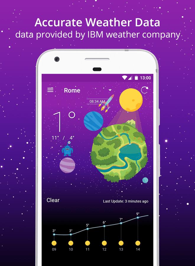 Weather Wiz Accurate Weather Forecas Widgets скриншот 4