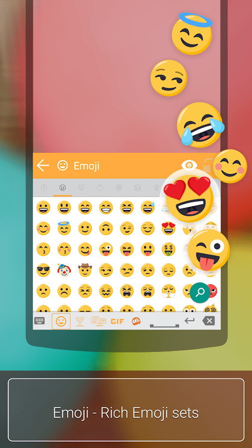 aitype keyboard plus Emoji Plugin скриншот 1
