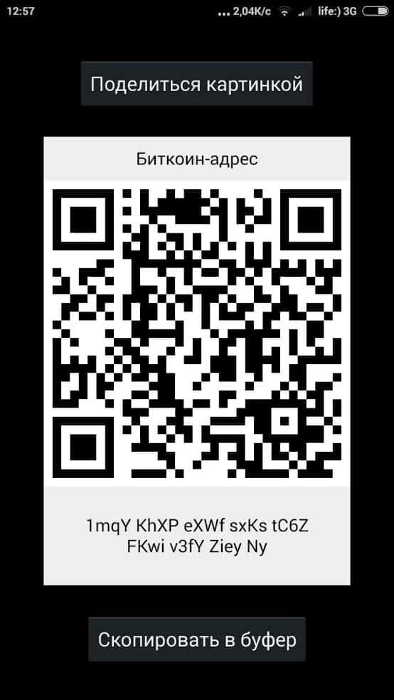 bitcoin koshelek - скриншот 3