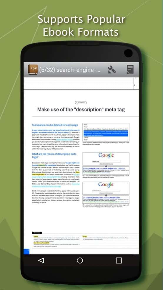 Читалка PDF для андроид 3