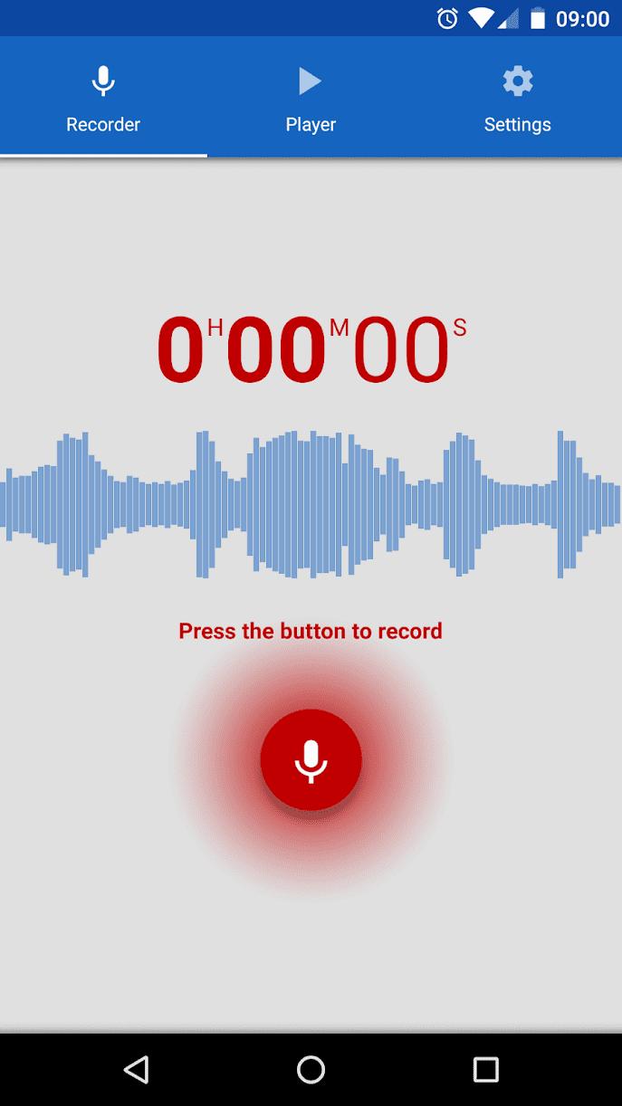 diktofon скриншот 1