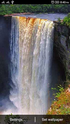 Водопад Live Wallpaper