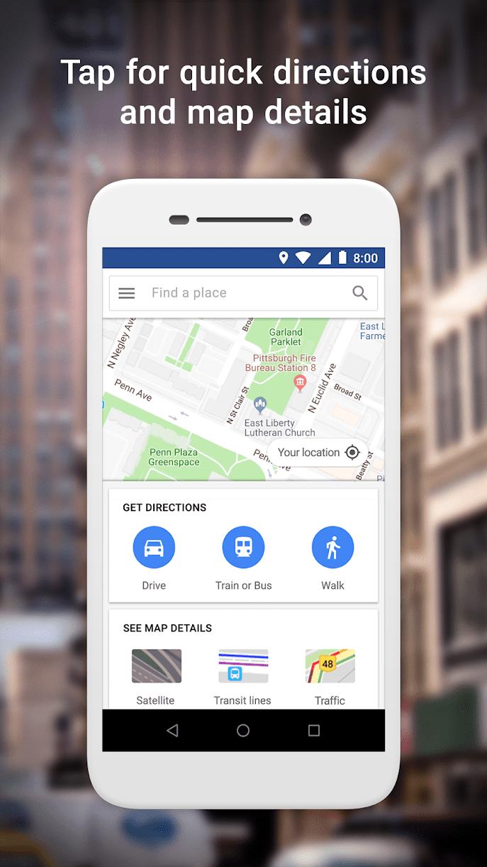 Maps Go скриншот 1