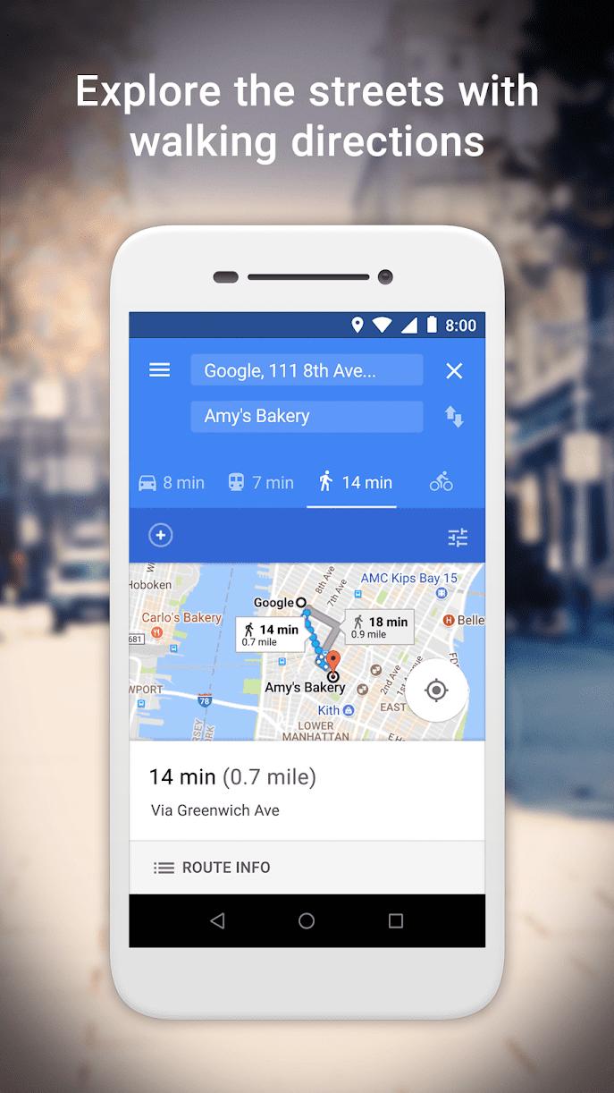Maps Go скриншот 4