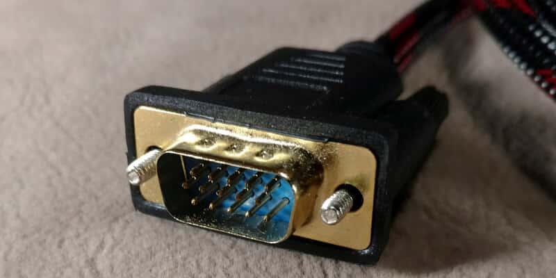 подключение ноутбука к телевизору кабелем 4