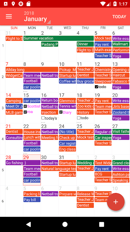 Haroo – Calendar Reminder скриншот 1
