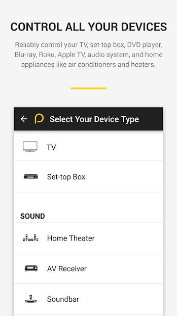 Panasonic TV Remote Control скриншот 1