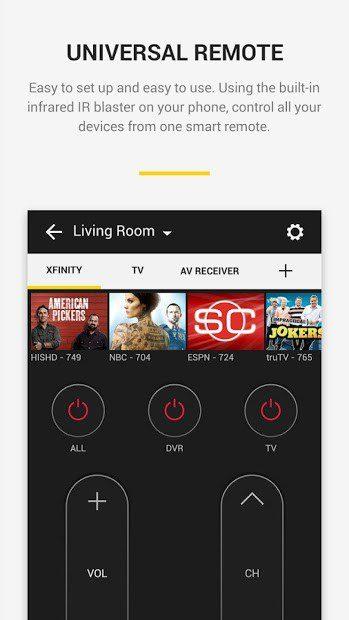 Panasonic TV Remote Control скриншот 2