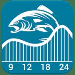 Fishing & Hunting Solunar logo