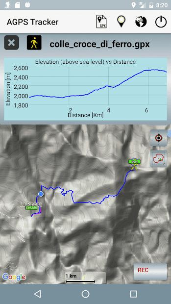 A-GPS Tracker скриншот 2