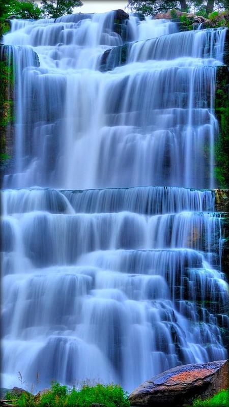 Водопад Живые обои скриншот 3
