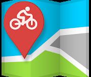 GPS спортивный трекер лого