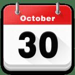 Календарь 2018, Напоминание logo
