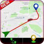 Отслеживания маршрута GPS logo