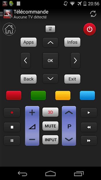 Пульт управления для LG ТВ скриншот 1