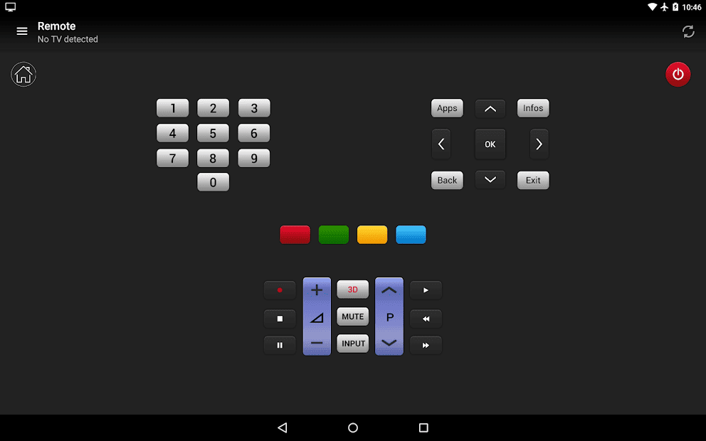Пульт управления для LG ТВ скриншот 3