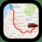 GPS личный маршрут слежения logo