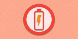 Отсутствие зарядки в нормальном состоянии.