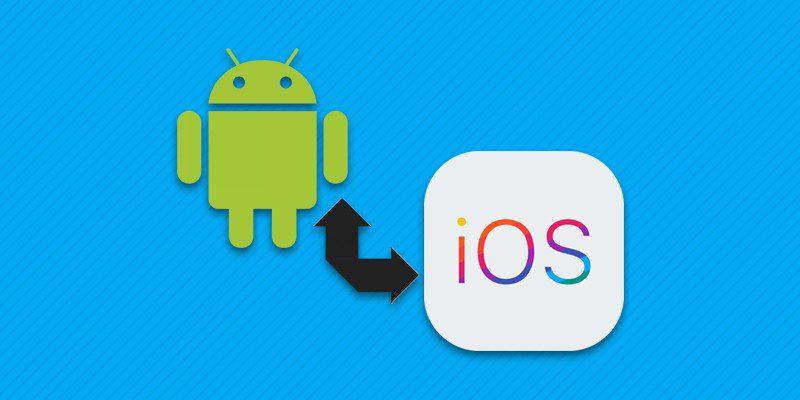 Перемещение информации с Android на iPhone.
