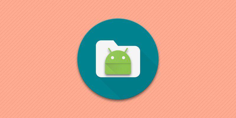 Расположение папок в файловой системе Android.