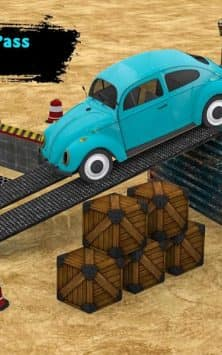 Classic Car Parking Real Driving Test скриншот 1