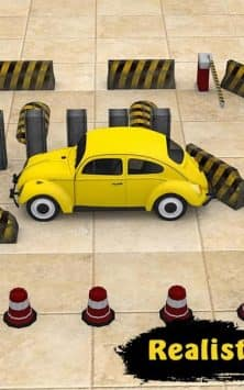 Classic Car Parking Real Driving Test скриншот 2