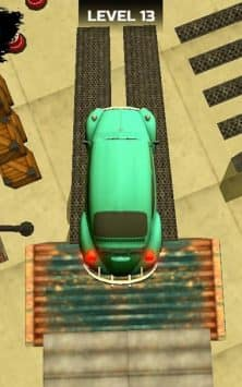 Classic Car Parking Real Driving Test скриншот 3