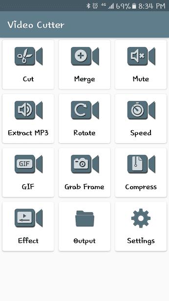 Easy Video Cutter скриншот 1