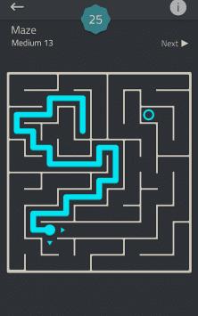 Головоломка - Коллекция: Linedoku скриншот 1
