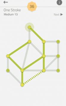 Головоломка - Коллекция: Linedoku скриншот 2