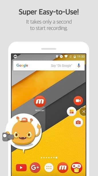 Mobizen запись экрана (SAMSUNG) скриншот 3