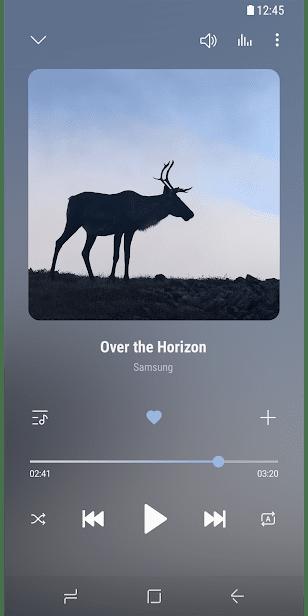 Samsung Music скриншот 4