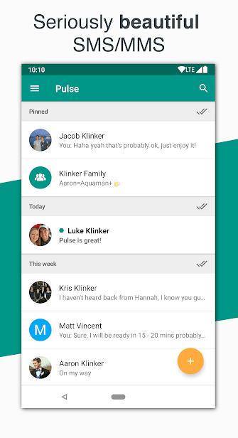 Pulse SMS скриншот 1