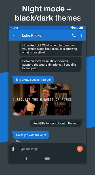 Pulse SMS скриншот 2