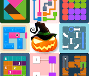 Puzzledom - classic puzzles all in one logo
