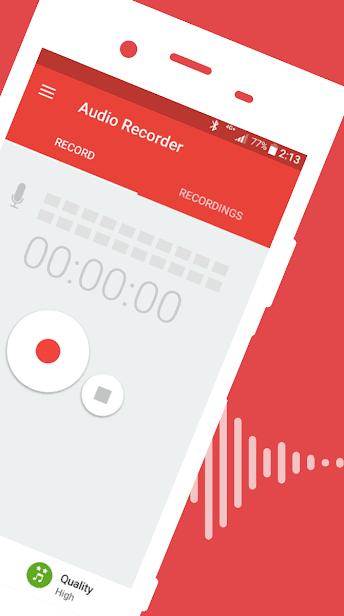 Audio Recorder скриншот 2