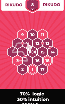 Rikudo - логическая игра скриншот 1