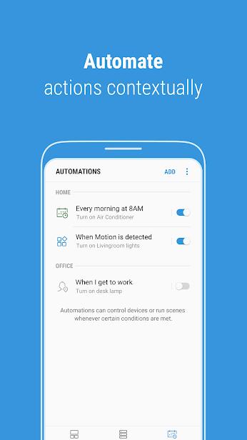 SmartThings скриншот 3