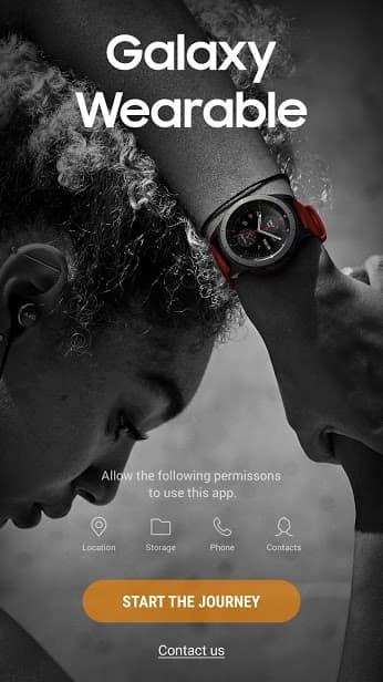 Galaxy Wearable (Samsung Gear) скриншот 1