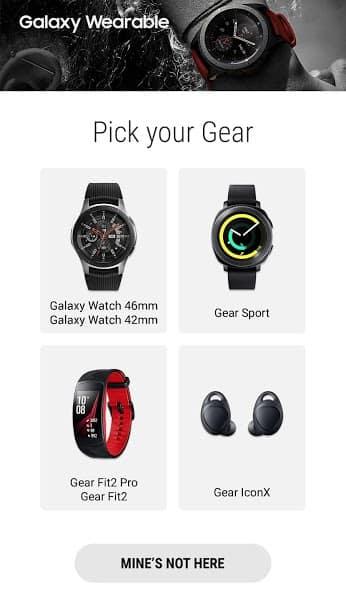 Galaxy Wearable (Samsung Gear) скриншот 2