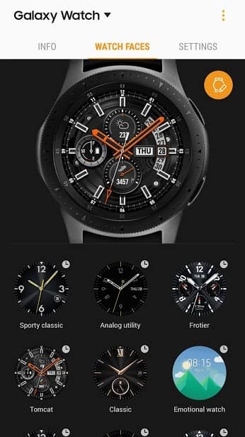 Galaxy Wearable (Samsung Gear) скриншот 4
