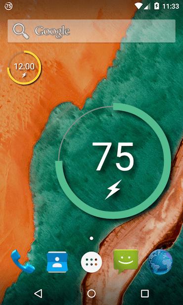 Battery Widget Reborn (Free) скриншот 1