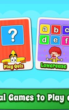 Алфавит для детей - английский скриншот 1