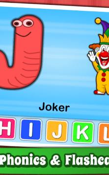 Алфавит для детей - английский скриншот 2