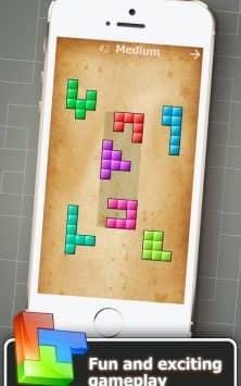 Головоломка из блоков скриншот 1