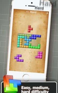 Головоломка из блоков скриншот 4