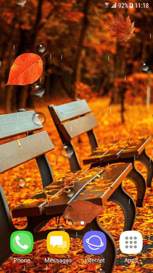 Красивая осень скриншот