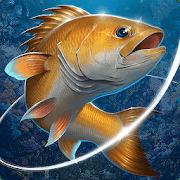 Рыболовный крючок logo