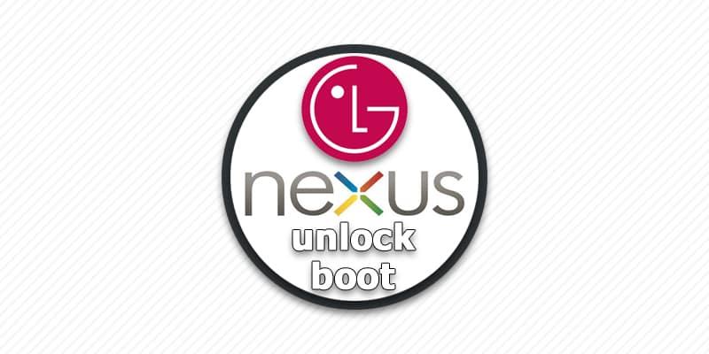 разлочка загрузчика LG Nexus.